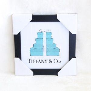 Tiffany & Co. X Fairchild Paris Framed Reprint